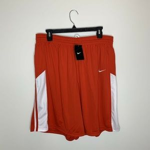 NWT Nike Womens XL Red Basketball Shorts MSRP $35